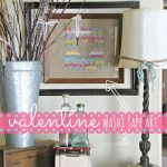 DIY Valentine Wall Art