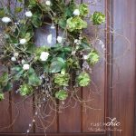 DIY Spring Curly Willow Wreath