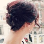 Triple Twist Updo for Short Hair