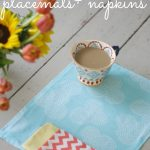 sew your own placemats and napkins