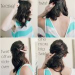 4 step hair tutorial process