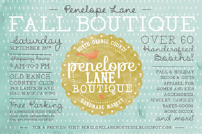 Penelope Lane Fall Boutique