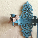 Repurposed Vintage Wall Sconce