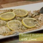 Baked Branzino with Lemon