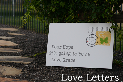 Love Letters by Red Letter Words