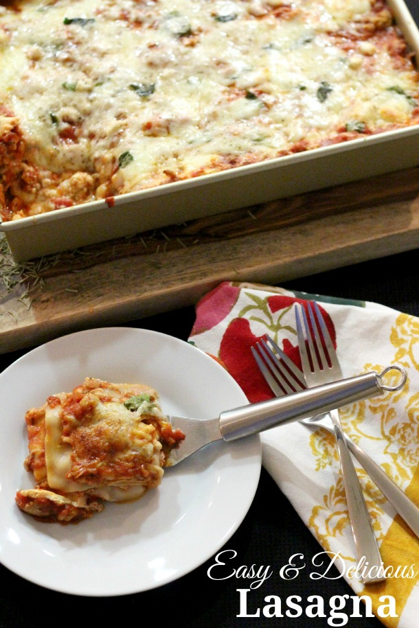 Easy and Delicious Lasagna