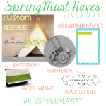 Spring Must Haves Giveaway