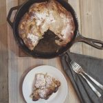 Caramelized Pear Dutch Baby
