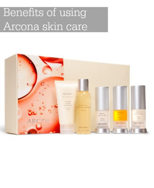 Benefits of using Arcona skin care