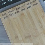 DIY Cutting Board with Cricut