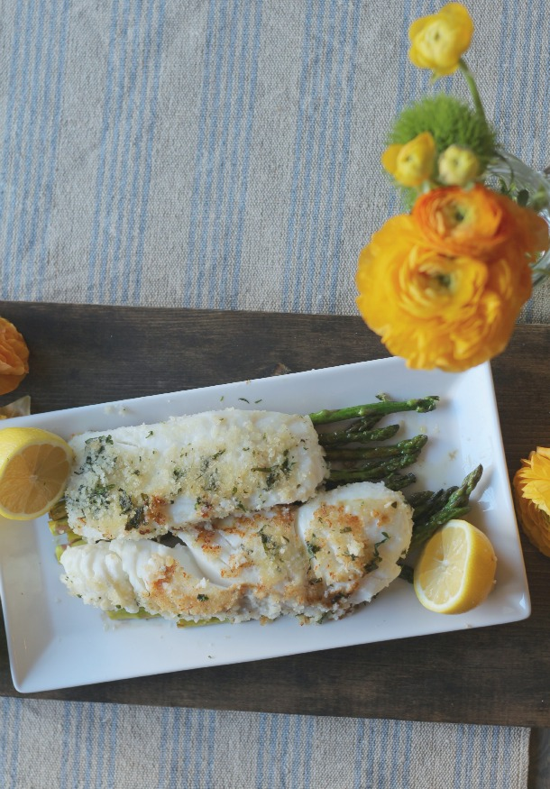 Herb Crusted Halibut 2