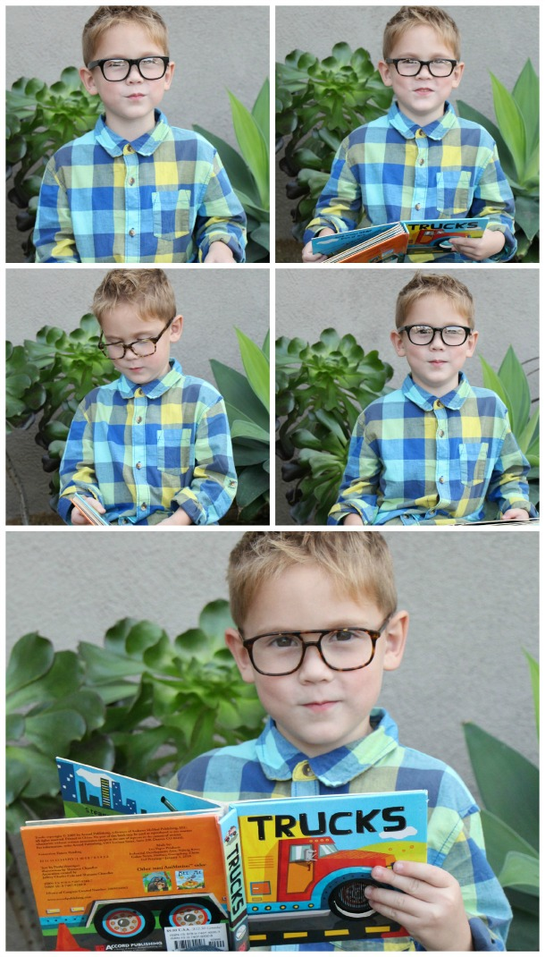 Brayden Glasses Collage
