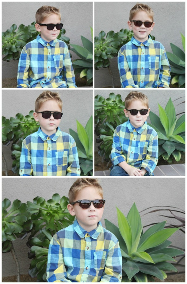 Brayden Sunglasses Collage