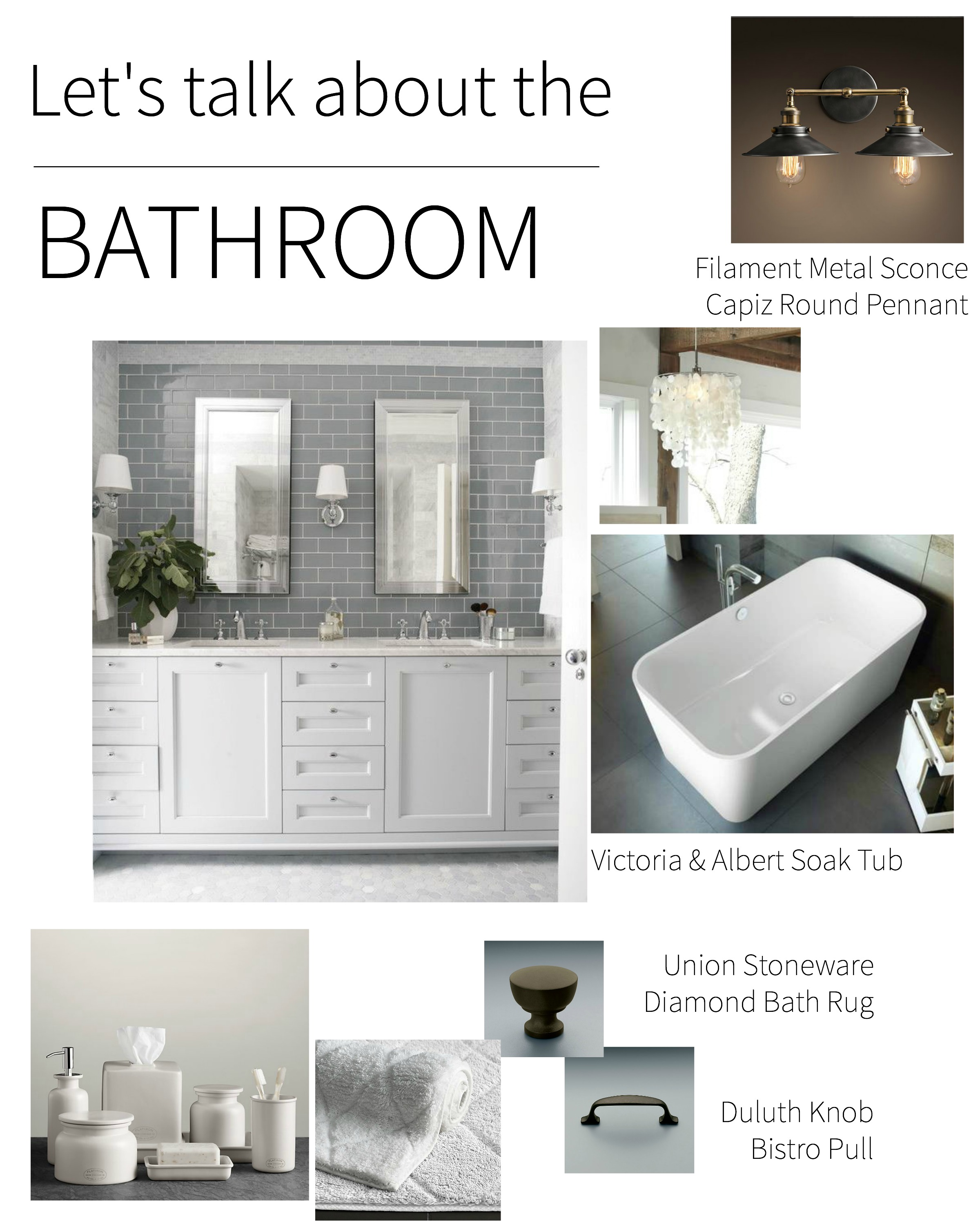 Master bathroom inspiration diary of an addict for Bathroom remodel inspiration