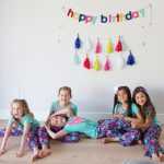 Katelyn turns 8: Build Your Own Pizza Party