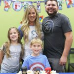 Brayden Turns 8 at Sender One