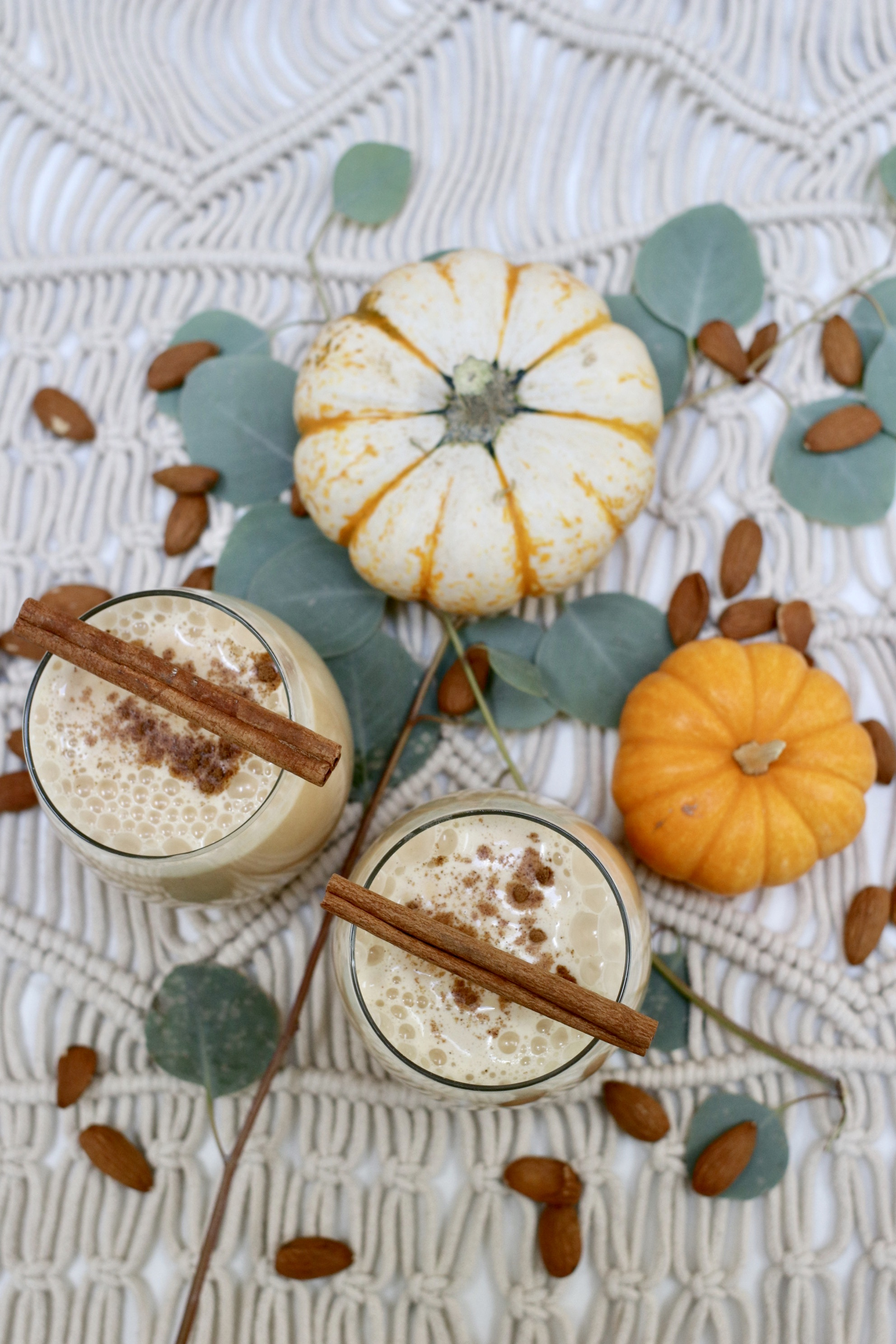 Pumpkin Almond Milk