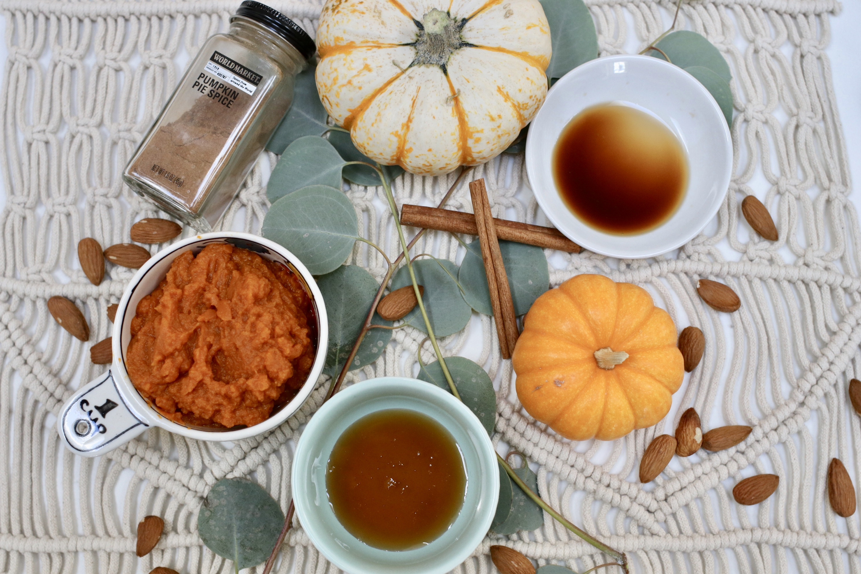 Pumpkin Almond Milk Ingredients