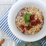 Nutramilk Recipe: Almond Butter Acai Bowl